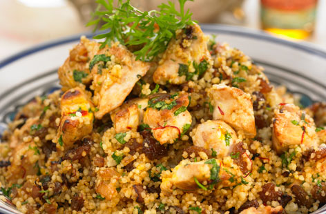 Chicken Raisin Couscous