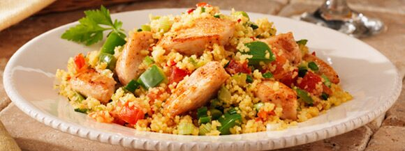Louisiana Chicken With Creole Couscous