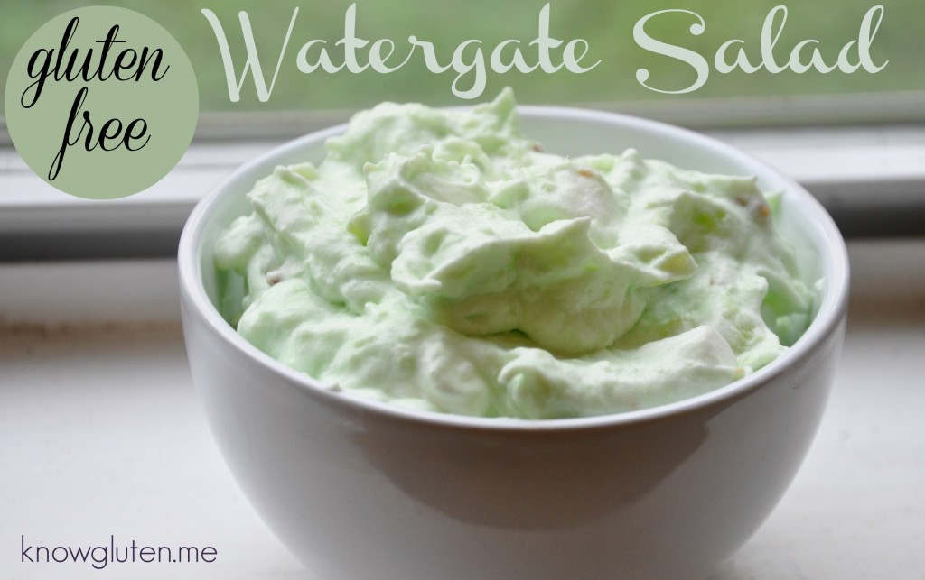 Gluten Free Watergate Salad from knowgluten.me