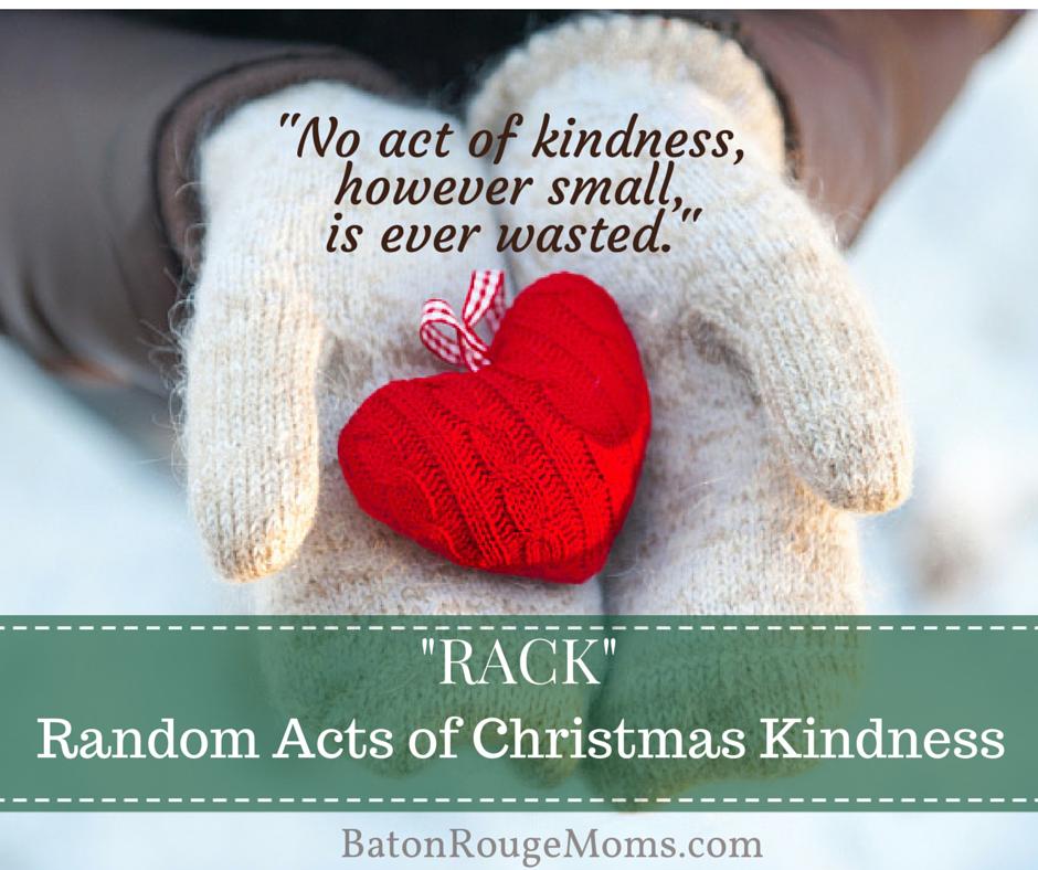 Randon Acts of Christmas Kindness