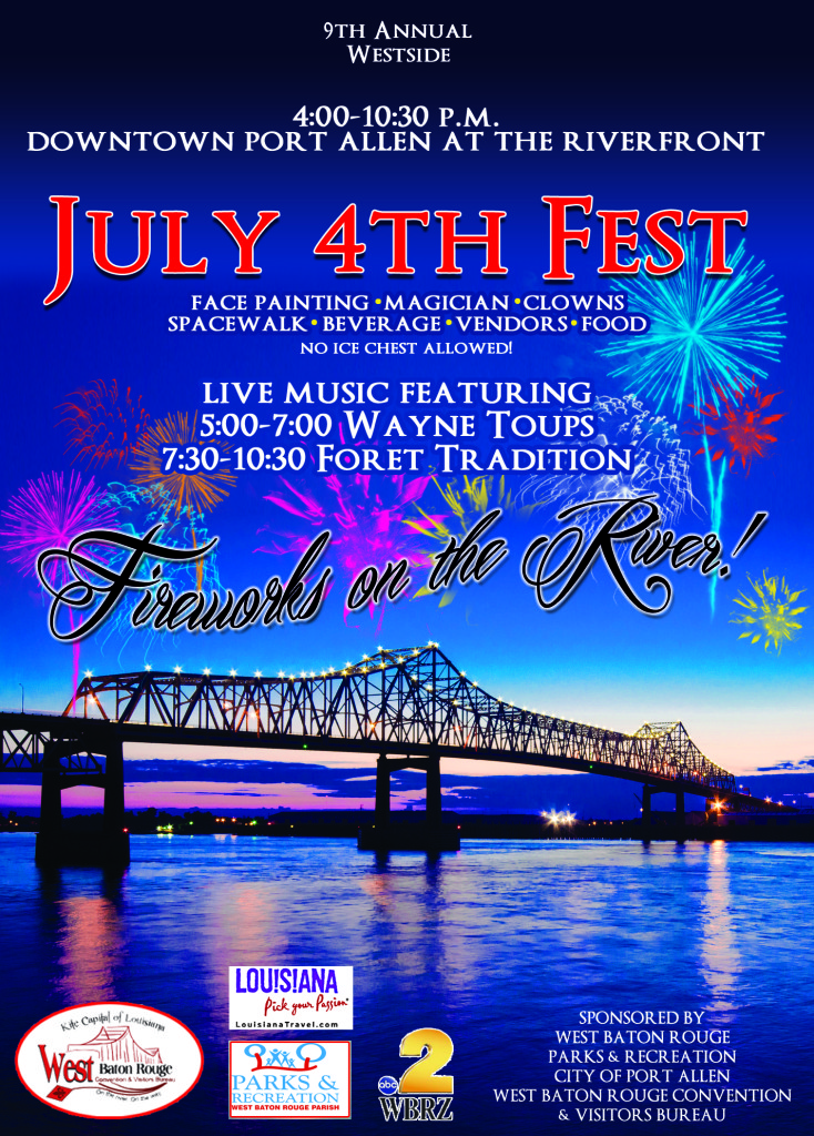 Fourth of July Event Guide - Baton Rouge