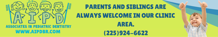 PARENTS AND SIBLINGS ARE ALWAYS WELCOME IN OUR CLINIC AREA.