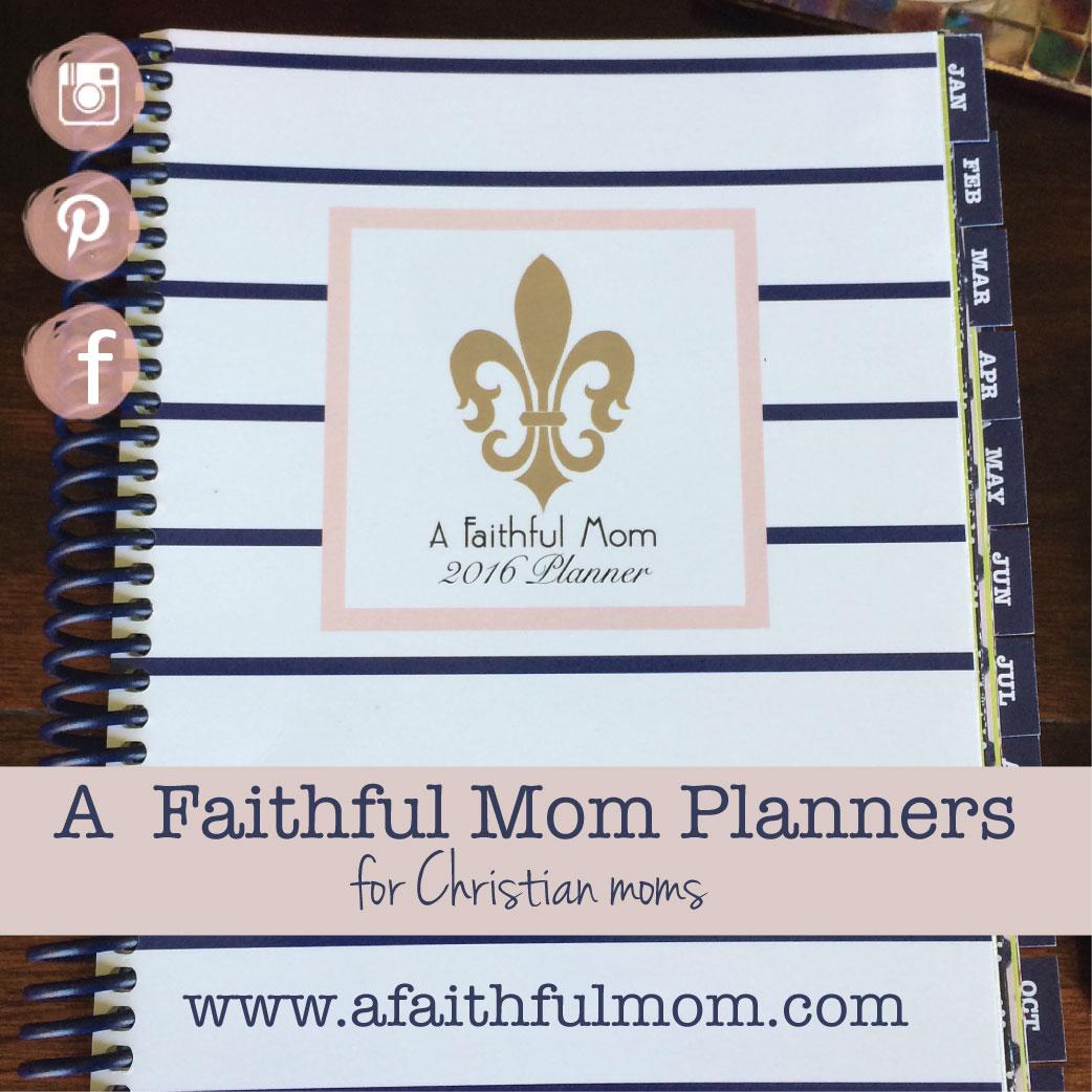 A Faithful Mom Planner