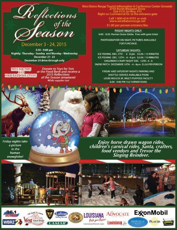 Reflections of the Season Baton Rouge Christmas