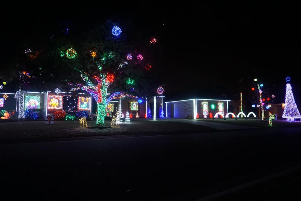 Christmas Lights in Baton Rouge