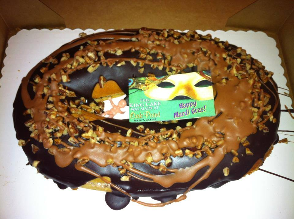 Oak Point Fresh Market King Cake