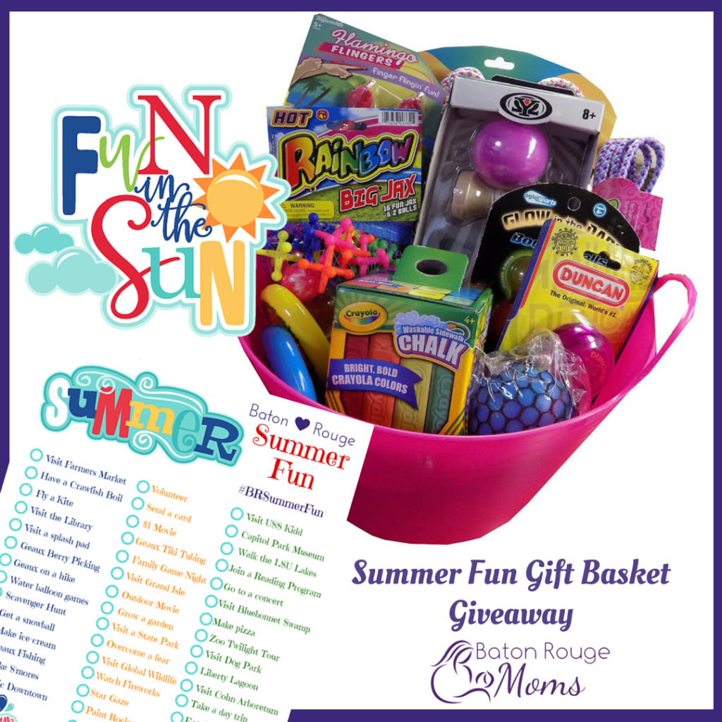 Baton Rouge Summer Fun Summer Giveaway