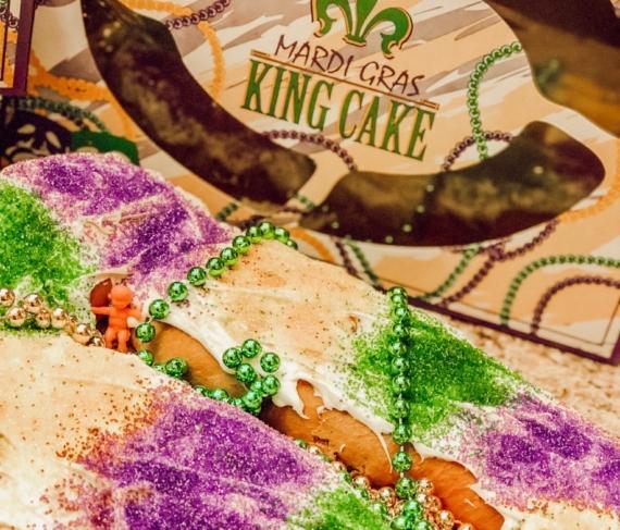 Baton Rouge King Cake