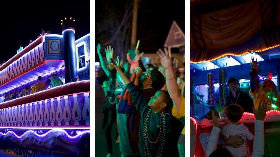 Krewe of Comogo Barton Rouge Mardi Gras Parade