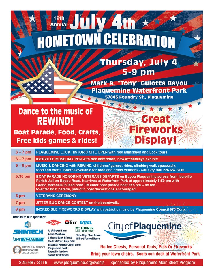 July 4th Hometown Celebration