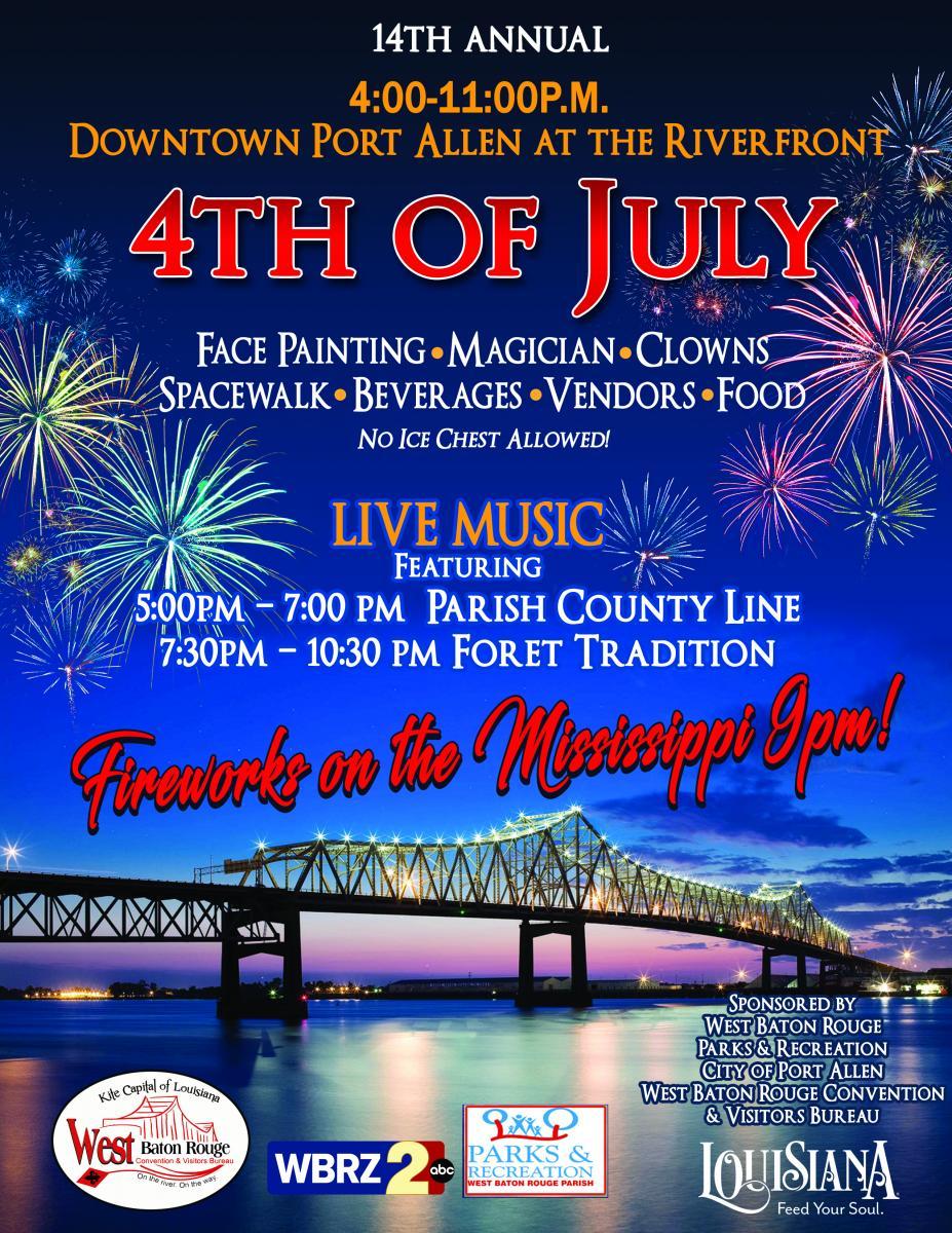 Baton Rouge Fourth of July