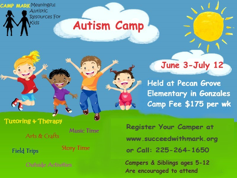 Baton Rouge Autism Camp