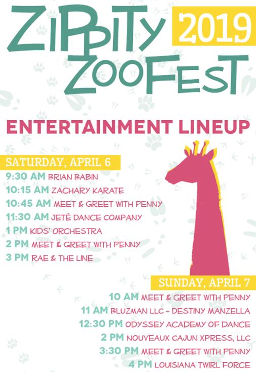 BREC Baton Rouge Zoo Zippity Zo Fest
