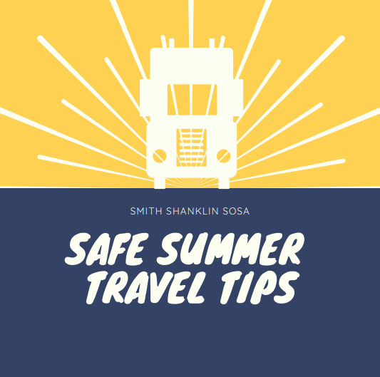 Summer Travel Safety Tips