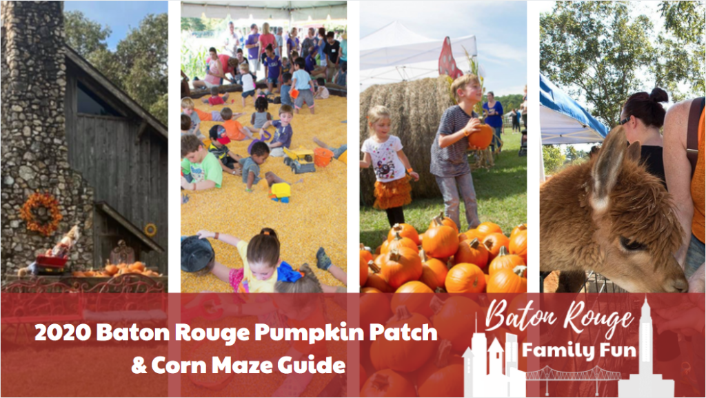 Family Friendly Baton Rouge Fall Events