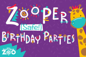 Zooper Birthday Parties