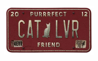 pet vanity plate