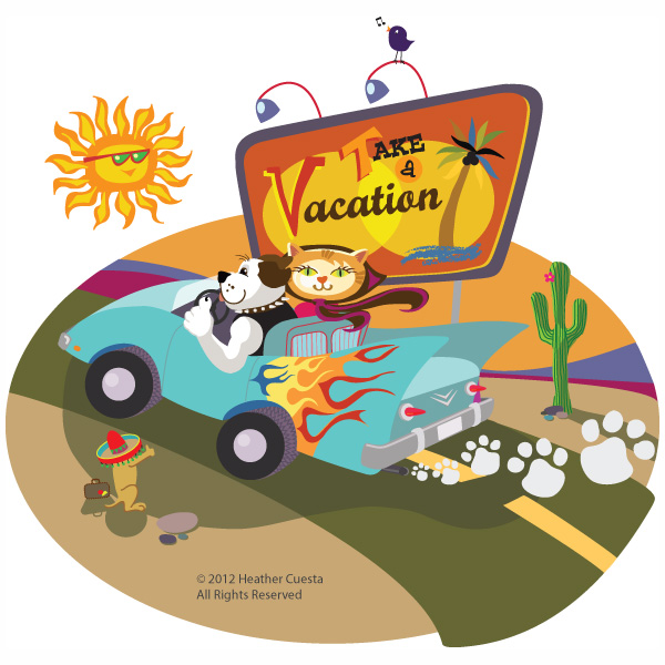 Take a vacation! Boarding at Airport Animal Hospital