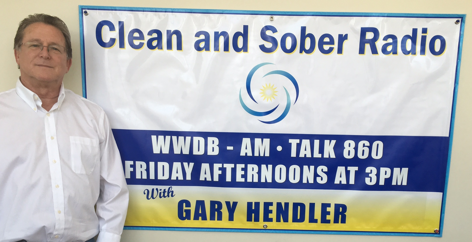 Gary Hendler - host of Clean and Sober Radio