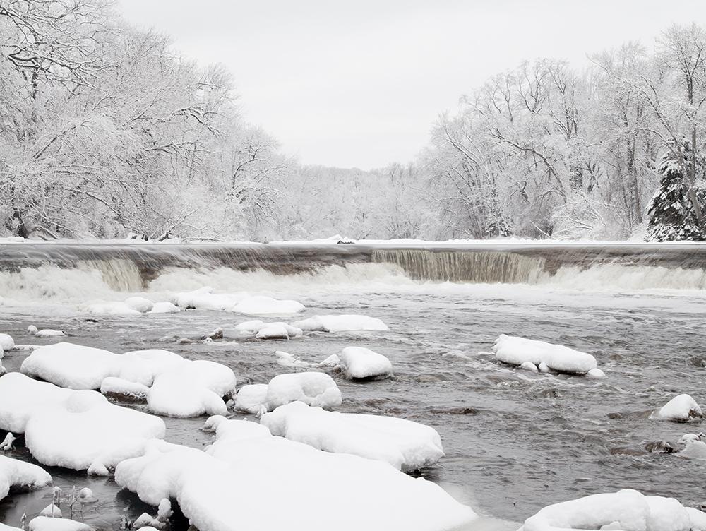 Milwaukee River, Kletzsch Park, Glendale