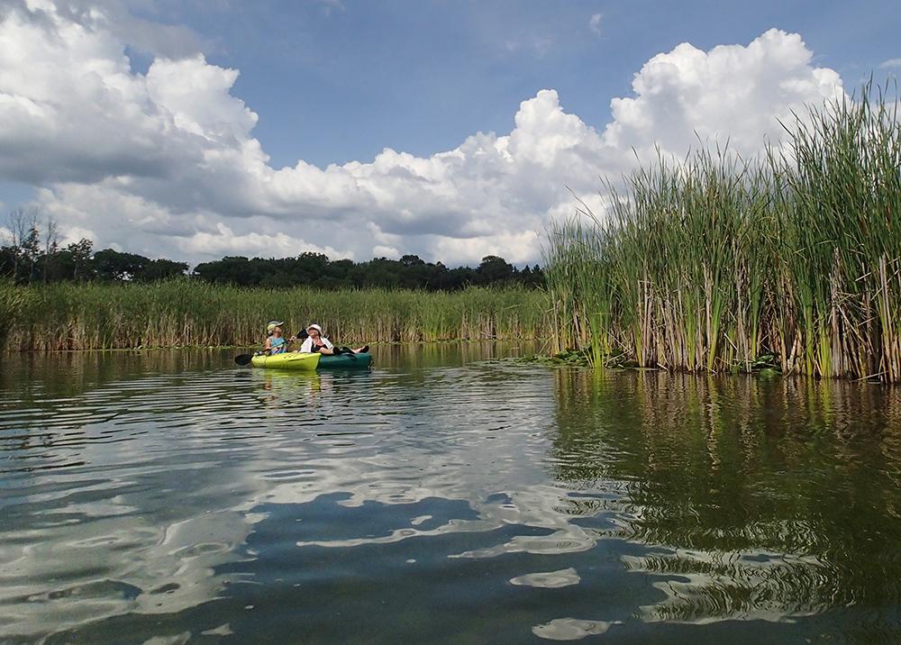 Kayaking the Bark River, Waukesha County