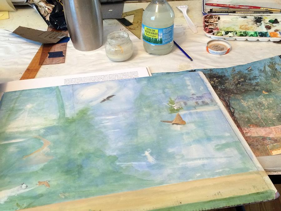 Study for fresco