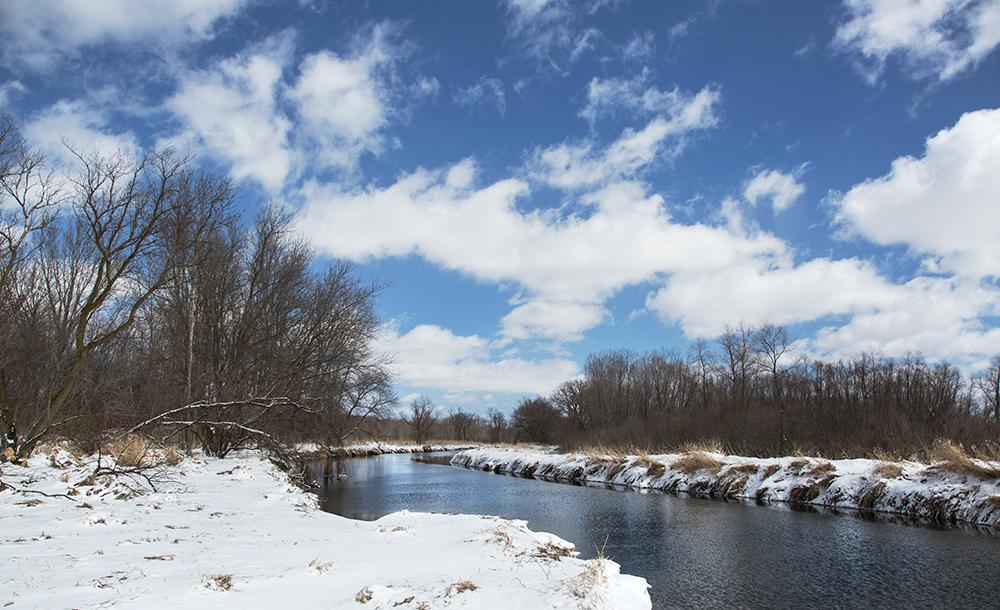 Cedar Creek, Jackson Marsh State Natural Area, Jackson