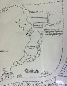Jensen Site Plan, detail