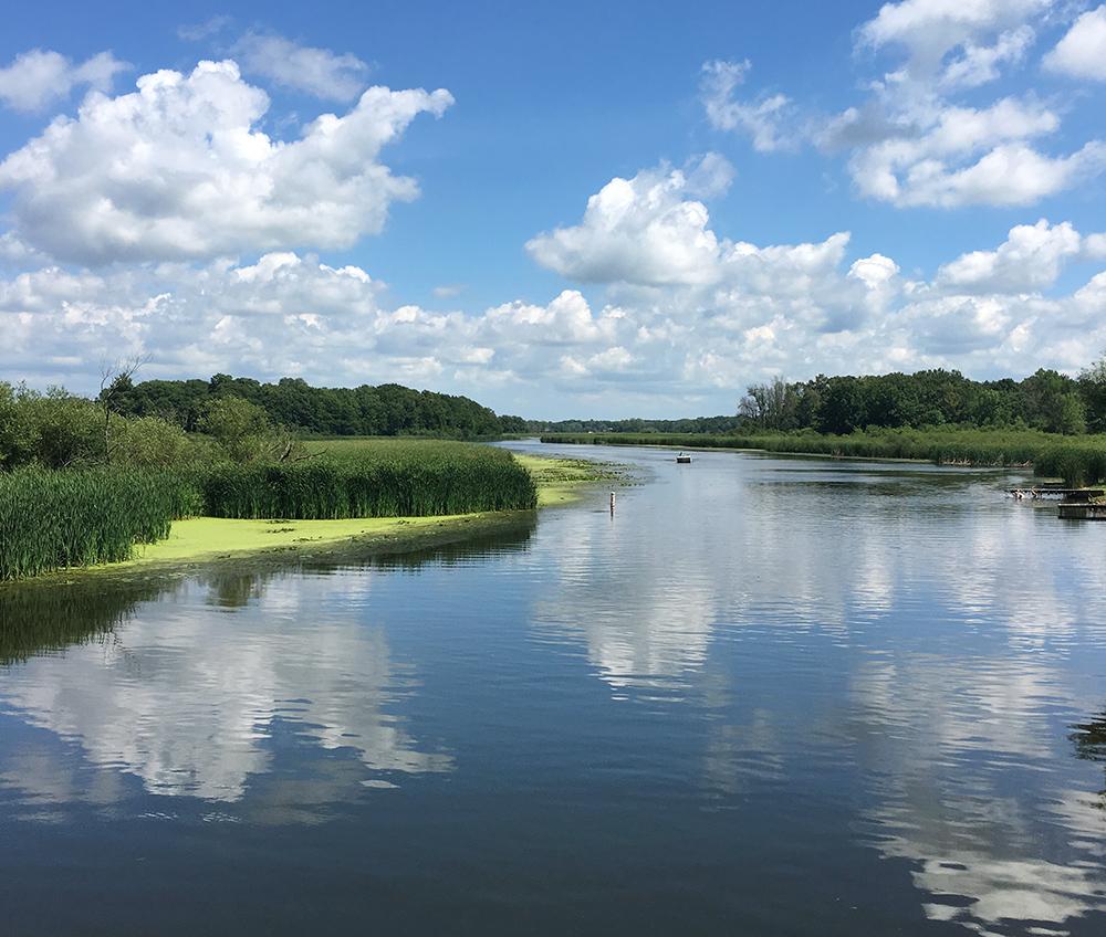 Fox River, Tichigan Wildlife Area, Tichigan