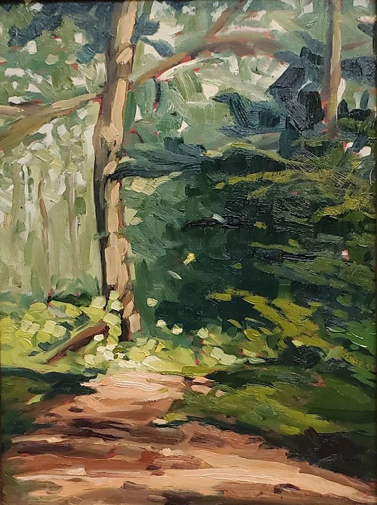 """""""The Bear Path."""" Michael's Garden, Sheboygan, WI."""