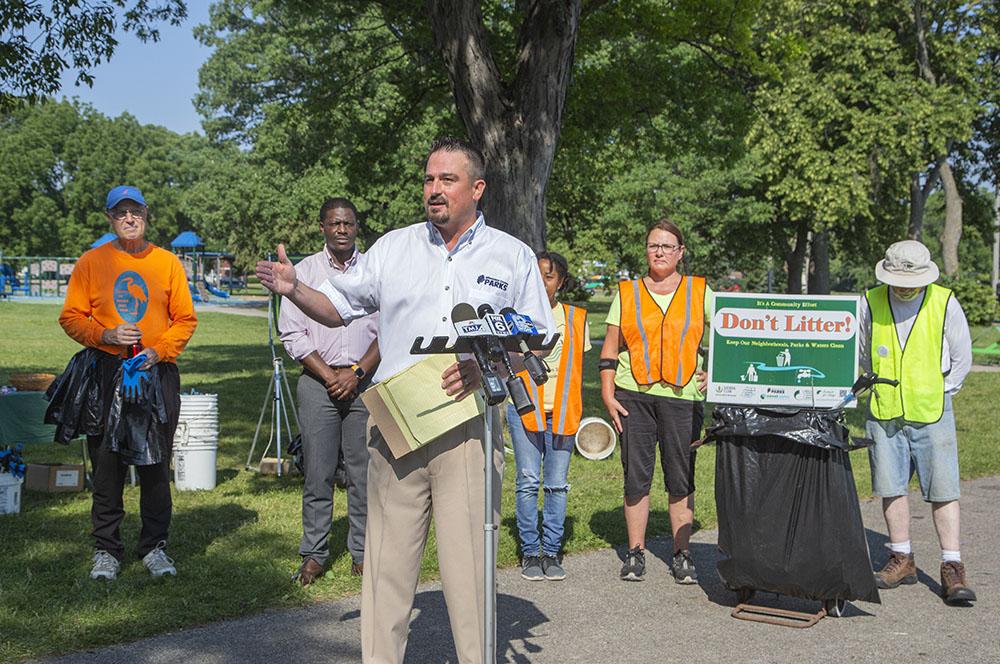 Milwaukee County Parks Director Guy Smith