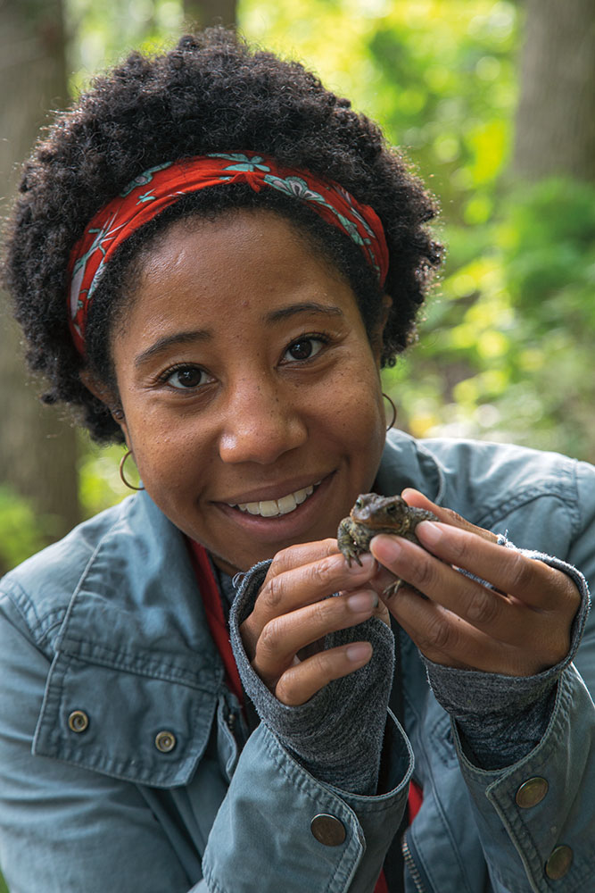"""Freelance naturalist Sierra Taliaferro contributed a story entitled """"Moments of Gratitude."""""""