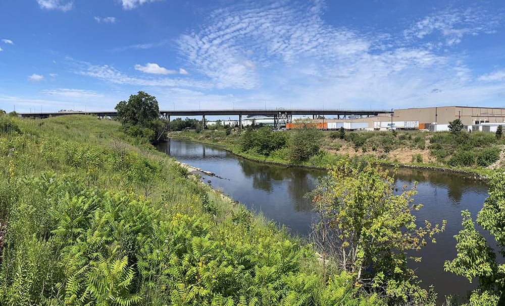 Menomonee River Panorama