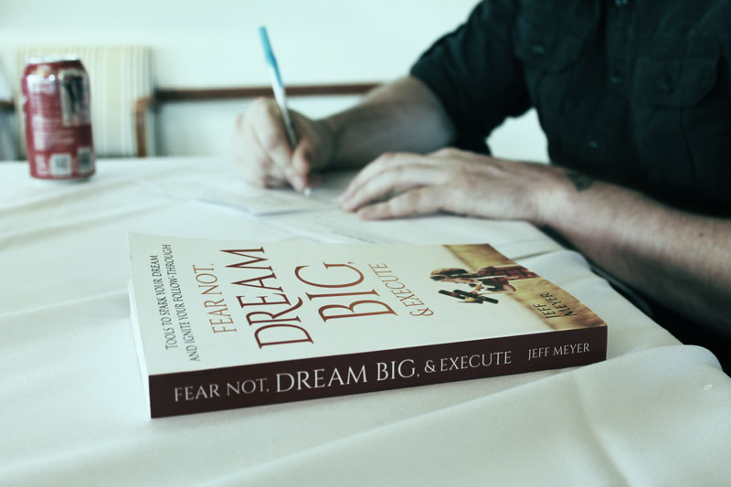 Jeff's book is an essential companion as you start pursuing your dreams.