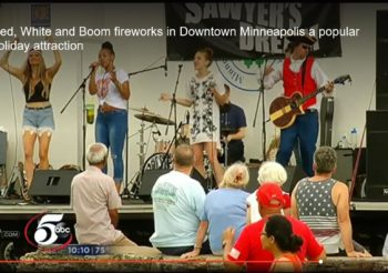 Sawyer's Dream at Minneapolis Red, White & Boom!