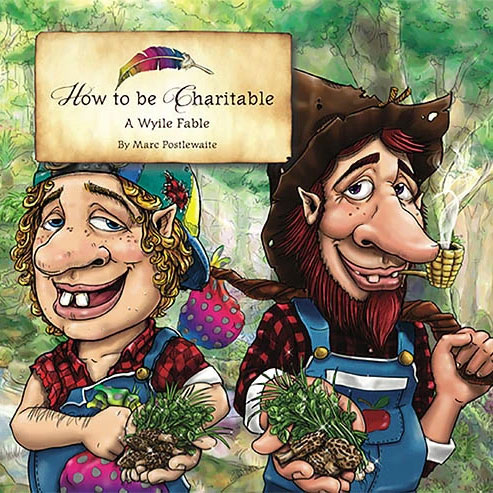 Book cover of How to be Charitable by Marc Postlewaite