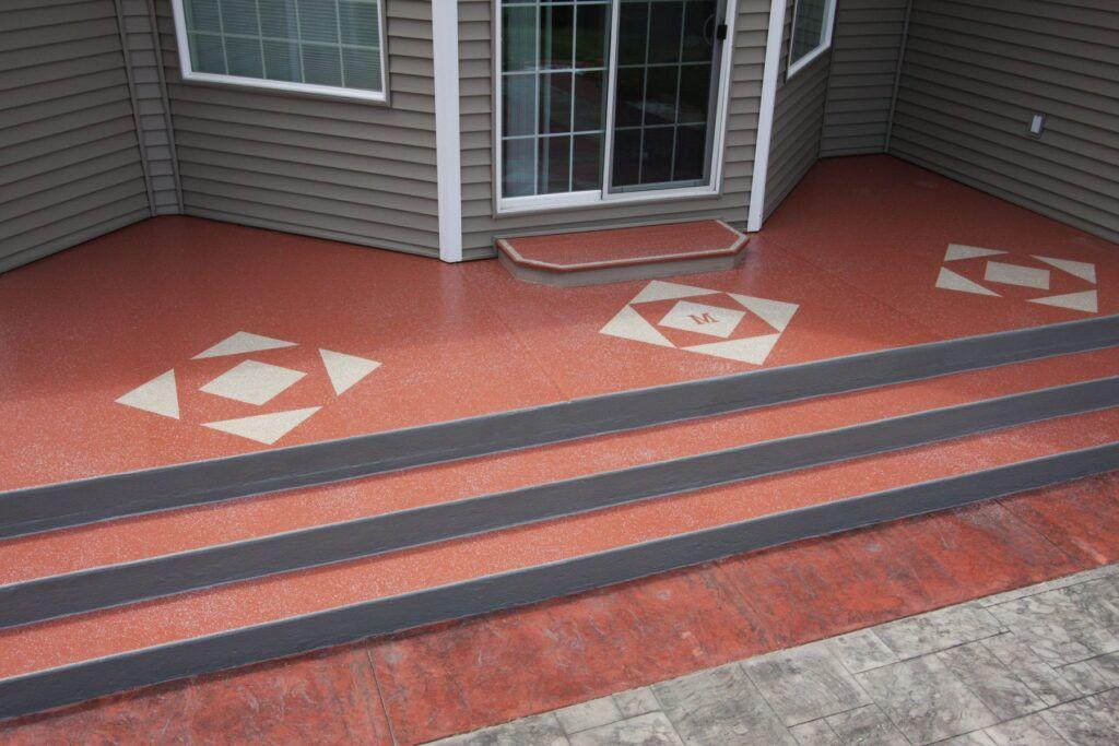 Concrete Granitex Deck