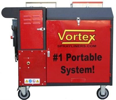 The Vortex KV 5006 #1 portable spray coating system