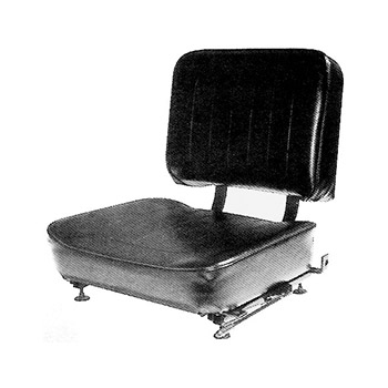 Bucket Seat with Straight Back