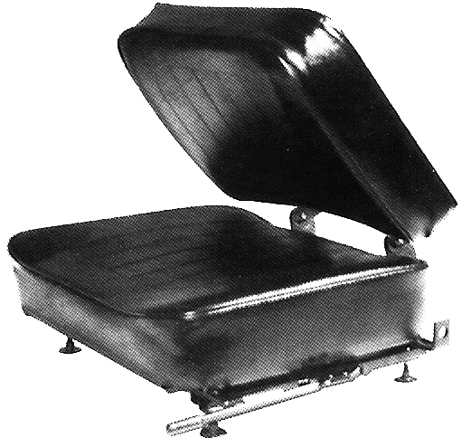 Bucket Seat with folding back
