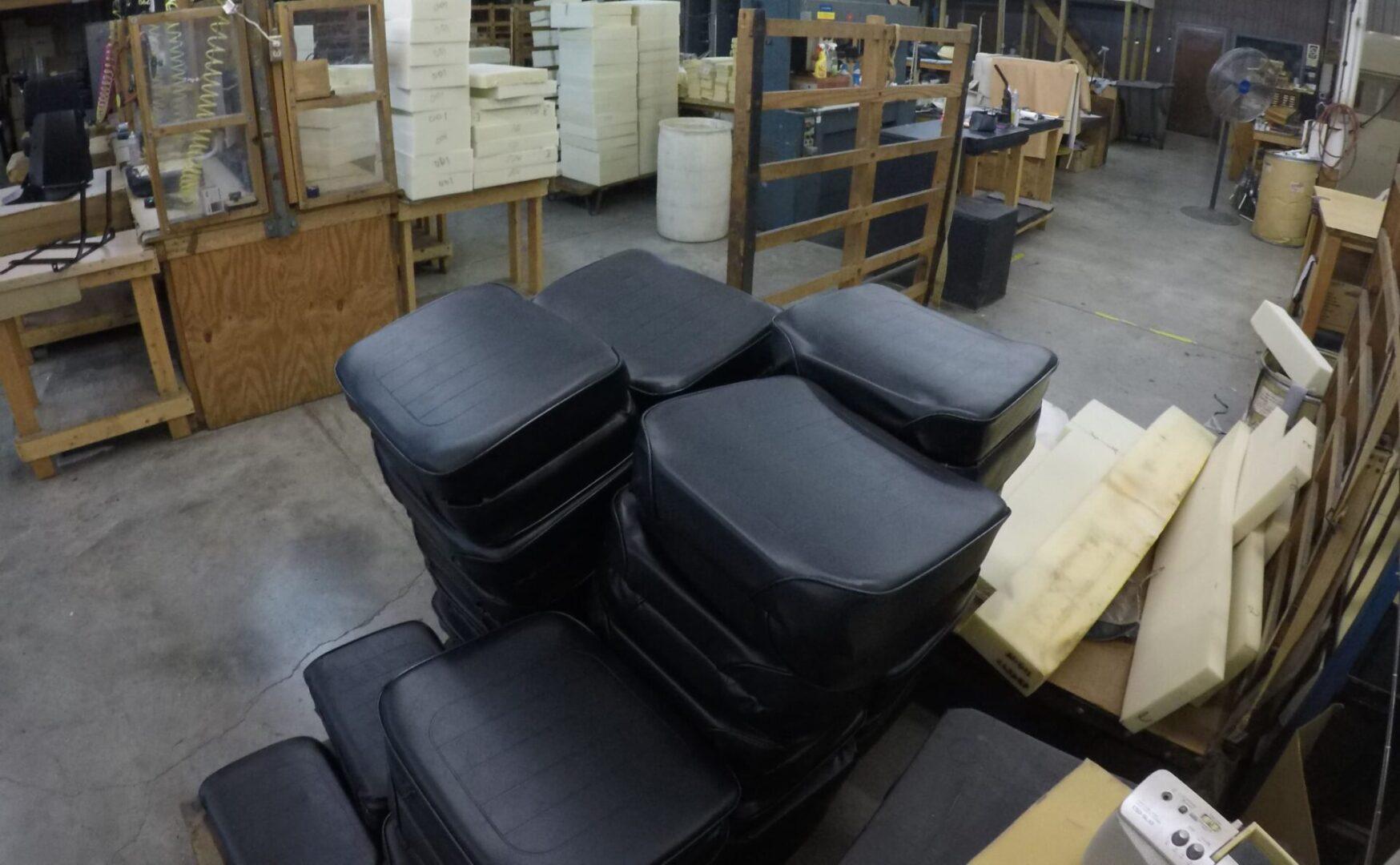 Custom-Cut Foam