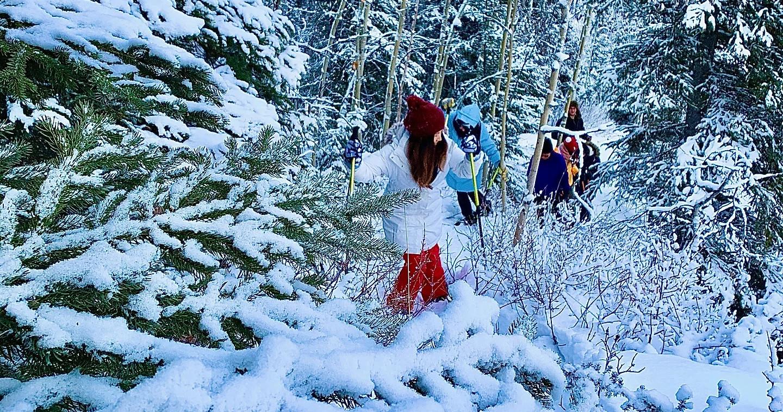 Snowshoe Alaska Wilderness Adventure