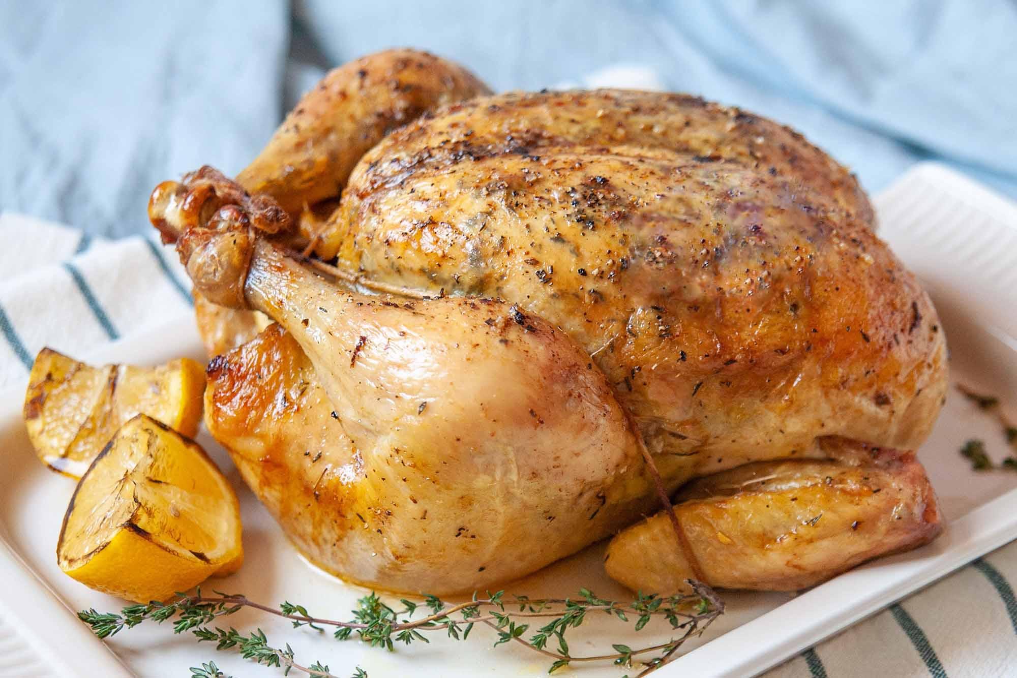 Silver Spoon's Roast chicken with lemons is a treat
