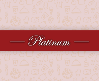 Silver Spoon's Platinum package. A touch of elegance.