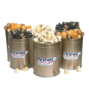 Planet-Popcorn-Mini Tin 6 Pack