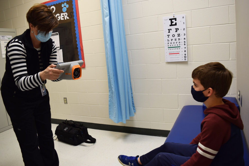 Hollister School District Mobile Vision Screener