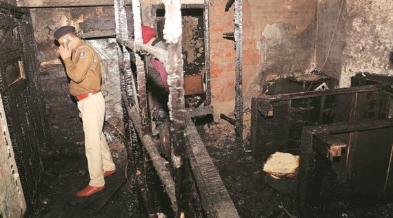 Three Students Dead in a PG Fire in Chandigarh