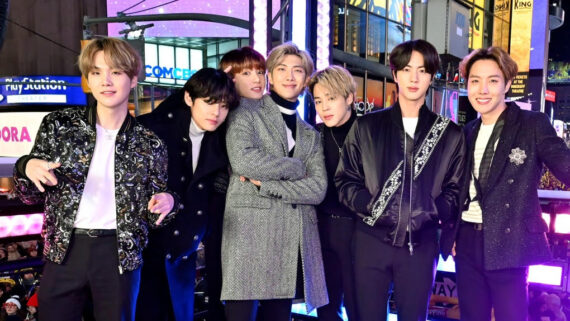 K-Pop group BTS smashes YouTube Premiere records