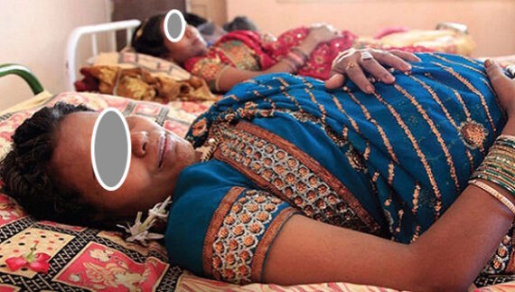 Budaun: Man cuts open expecting wife's stomach to find out baby's gender