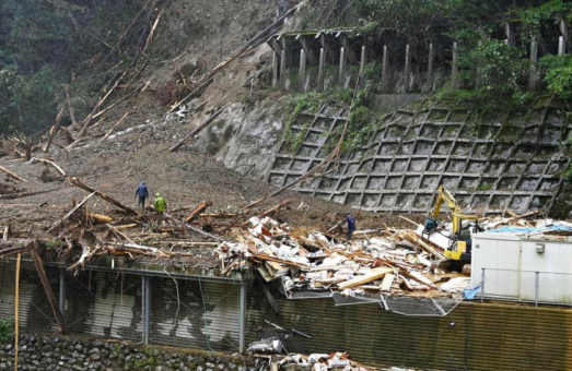 Typhoon Haishen Drives Thousands Powerless in Japan, Rescue Operations Underway